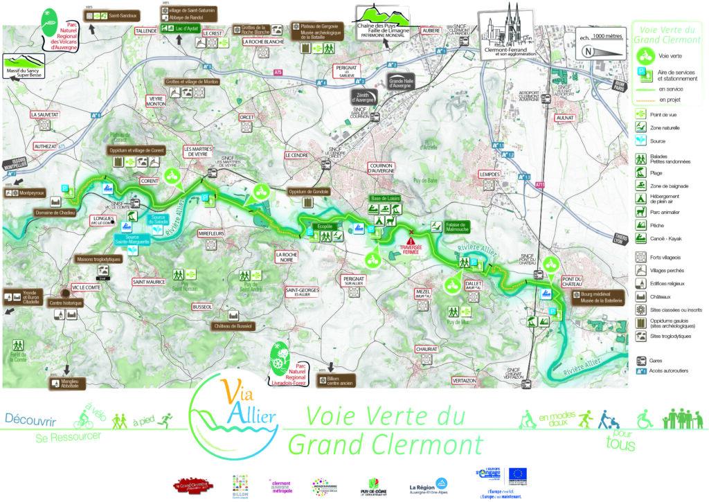Carte voie verte